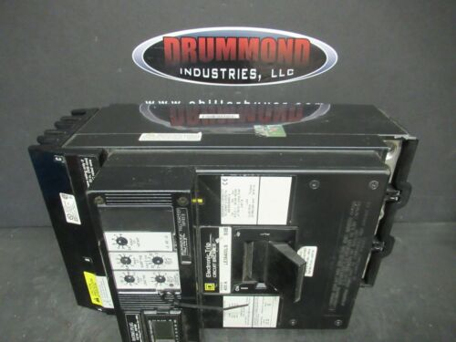 400 AMP SQUARE D I LINE BREAKER LE36400LS 3 POLE 600 VAC W/ ARP100 SENSOR