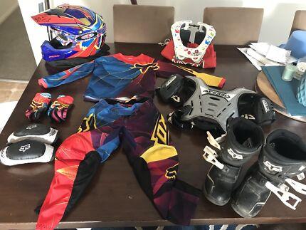 Kids motorbike gear