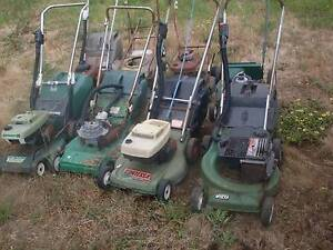 8 x old victa 2 stroke and turner 4 stroke mowers for sale. Honeywood Brighton Area Preview