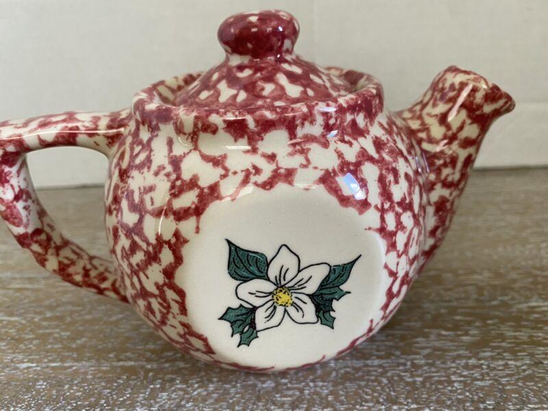 Henn Workshops Spongeware Teapot