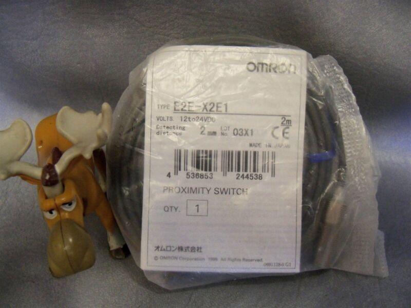 Omron E2E-X2E1 Proximity Sensor w Cable