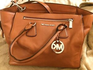 MK authentic leather bag