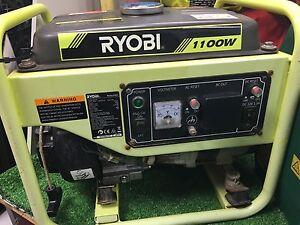 Ryobi petrol generator 1100w Yarrawonga Palmerston Area Preview