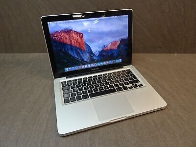 Apple MacBook Pro Core 2 Duo 2.4GHz 4GB RAM 250GB HDD Laptop A1278 El Capitan