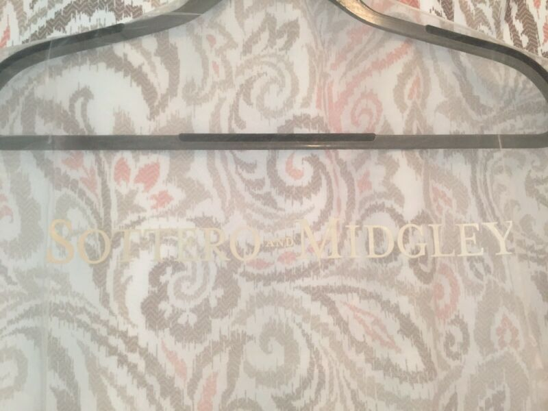 New Sottero & Midgley White Breathable Wedding Gown Dress Garment Bag Long