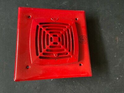 Nib New Est Edwards 881ald-awc Fire Alarm Horn Red