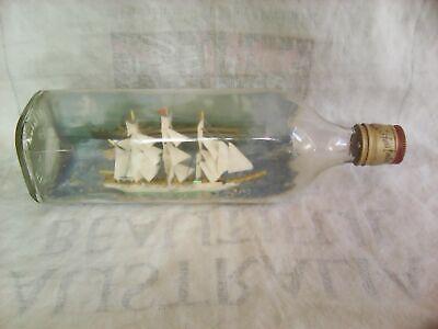 "Vintage Ship in Bottle-'The Fox'-10.5"""