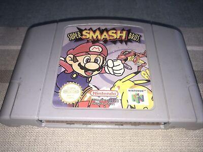 N64 Nintendo 64 Game Super Smash Bros UK PAL Cartridge Only