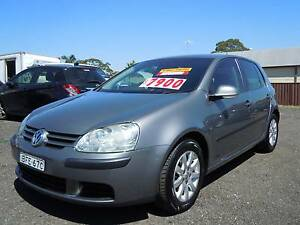 2008 Volkswagen Golf AUTO TDI DIESEL TURBO, LONG REGO, LOW KMS, Guildford Parramatta Area Preview