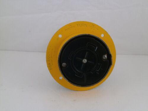 HUBBELLOCK TURN LOCK PLUG 60AMPS/ 600VAC/ 4 WIRE
