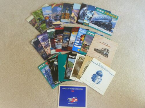 Orchard Supply Train Calendar Collection With Rare Early Versions  26 Total