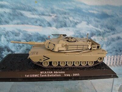 1/72 Altaya Military Magazine  M1A1HA Abrams 1st USMC Tank Battalion Iraq 2003 for sale  Rancho Santa Margarita