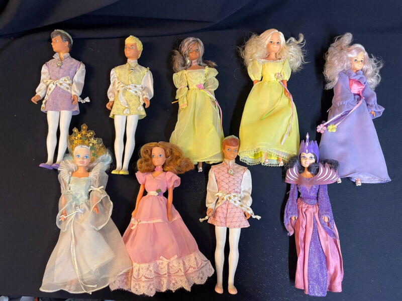 Creata Princess/Fairy Doll Lot - HUGE LOT lot of 9