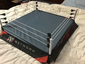 WWE RAW 22 X 22 Scale Ring with 8 wrestlers.  Over $300 new