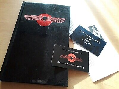 "TEMPLE OF THE VAMPIRE - VAMPIRE BIBLE - Buch - Church Of Satan ""Ableger"" for sale  Shipping to South Africa"