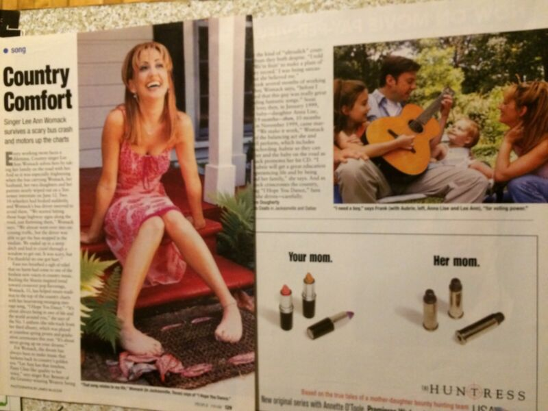 Lee Ann Womack, Two Page Vintage Clipping