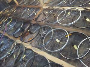 "Serviced recycled bike wheels from Cycle Saloon, 700 & 26"" Maribyrnong Maribyrnong Area Preview"