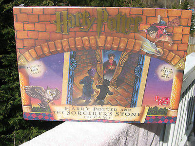 Harry Potter & The Sorcerer's Stone The Game Includes 6 3/4 Games~New & Sealed!