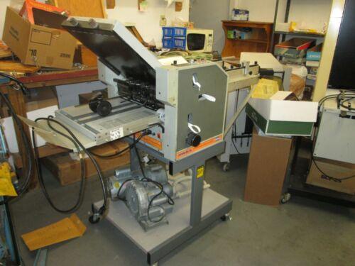 CALLENGE SRA 3 AIR FEED FOLDR NICE CLEAN MACHINE