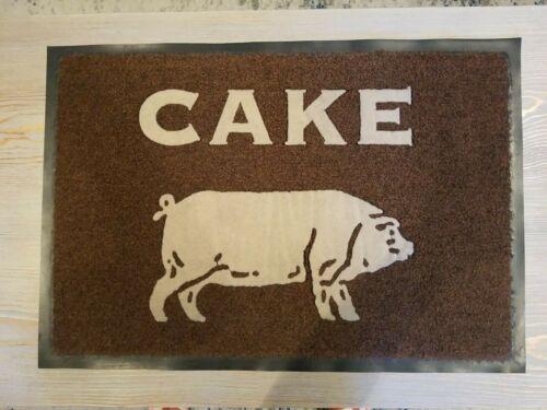 """Cake Band Door Floor Mat """"Prolonging The Magic"""" Album Cover Promo Item"""