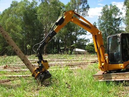 Hydraulic grapple saw - tree felling, trimming and storm clean-up Tumut Tumut Area Preview