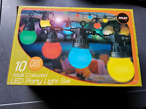 Arlec 10 LED Multi Colour Party Light Salter Point South Perth Area Preview