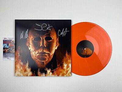 John Carpenter Halloween 3 Soundtrack (John Carpenter Signed Halloween Album Soundtrack 3 Signatures JSA)