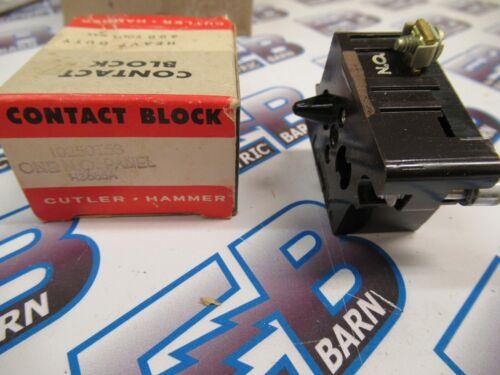 Cutler Hammer 10250T53, Series A, Contact Block, 1 N.O.- NEW-B
