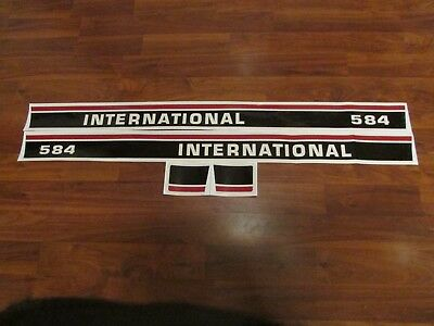 International Ih 584 Decal Set