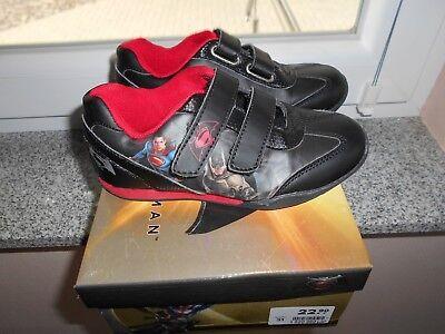 Jungen Schuhe Batman Superman Gr.31  wenig getragen in OVP