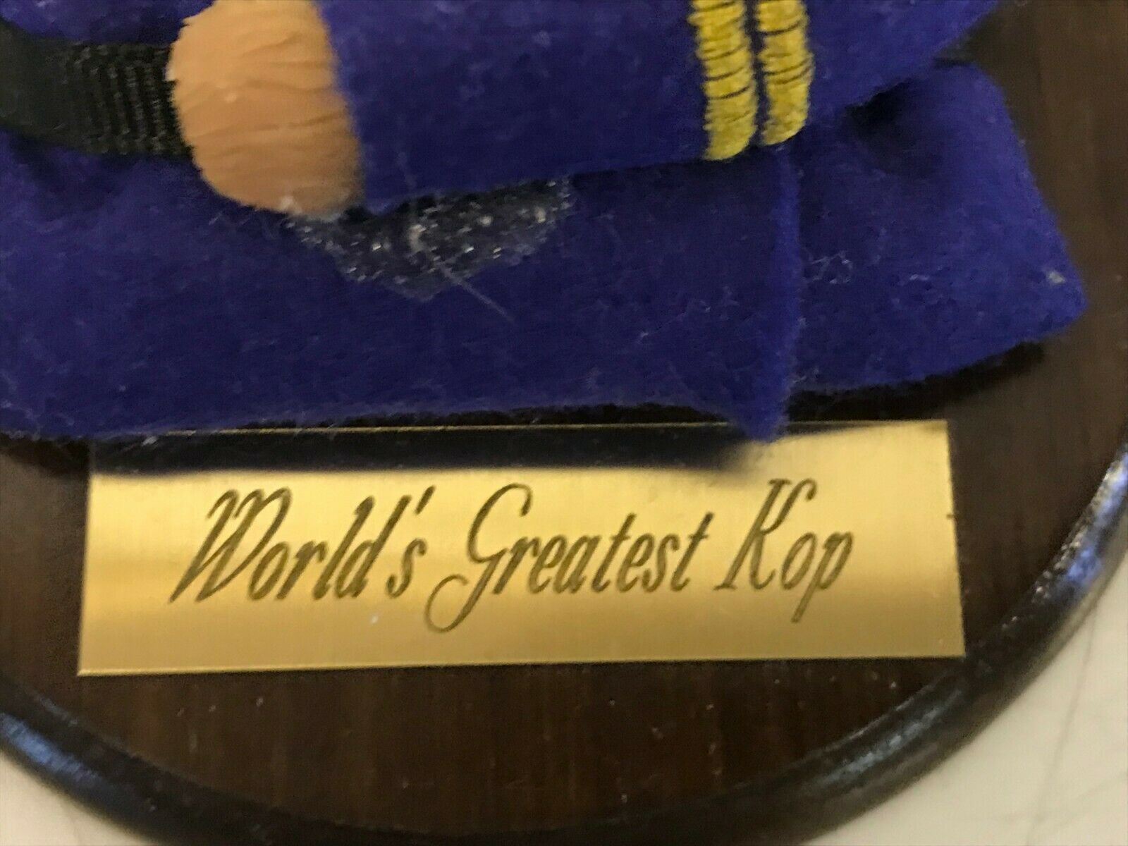Life's attractions worlds greatest kop bulldog anglais plaque
