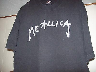 Metallica Shirt Vintage Tallica Wuz Here Live Tour Concert Mens XL