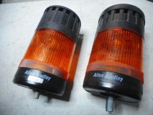 ALLEN BRADLEY -- 70mm Tower Lamp + Buzzer -- Qty of 2 -- 855T-B24DD5 + 855T-BSB