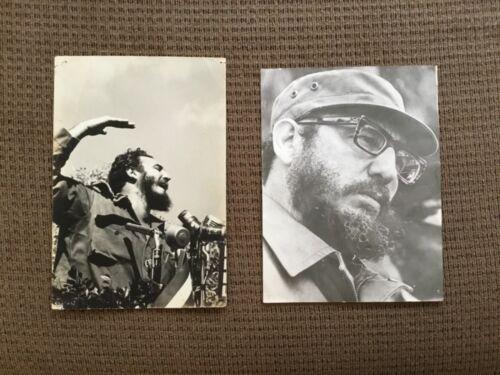 TWO ORIGINAL Andrew St. George Photographs of FIDEL CASTRO circa 1958