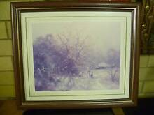 """2 """"Old Sydney"""" wooden framed prints, excellent condition. New Lambton Heights Newcastle Area Preview"""