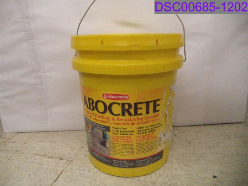5 Gallon Bucket Abatron Abocrete Epoxy Adhesive Dark Gray