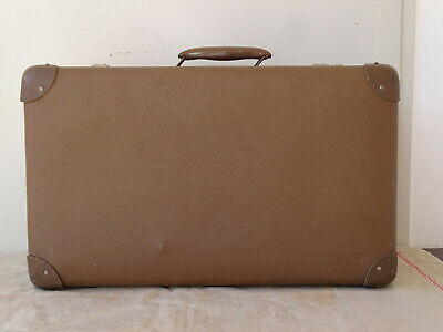 V6116 Old Travel Cases Um 1940 ~ Very Decorative~Vintage~Suitcase