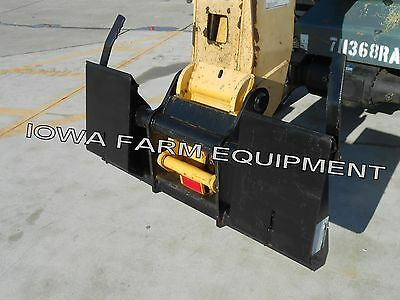 Telehandler Skidsteer Quick Attach Adapter For Gehl Rs5-19 Rs6-34 Telehandlers