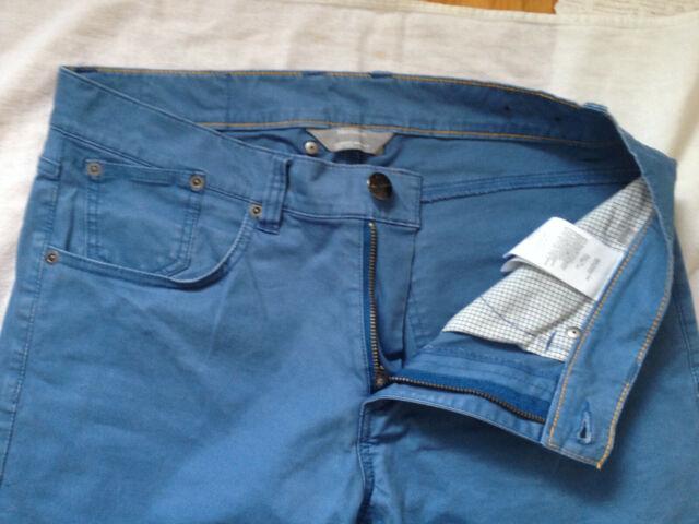 MATINIQUE DENMARK CHINO PRISTON CM MEN'S PANTS STRAIGHT SLIM 31 x 33 BLUE