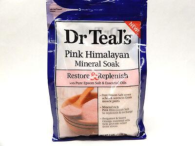 Mineral Soak (Dr. Teals Mineral Soak Restore + Replenish Pink Himalayan 3 lb 811068014997WS)