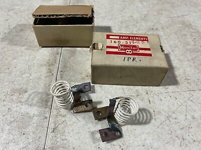 Lot Of Two Monitor Products Size 10 Heater Elements Magnetic 160-31-4.25a Nos