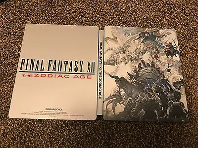 Final Fantasy Xii The Zodiac Age Steelbook Only With Soundtrack