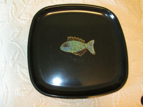 vintage Couroc Of Monterey California Fish Tray