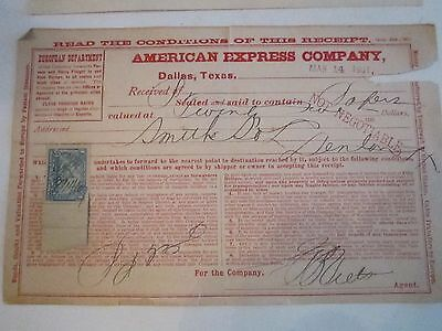 2 1901 U S  Stamped Financial Documents  Amex   Debt Note      Lot St2