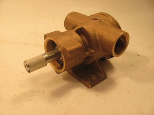 """JABSCO 777-0003 BRONZE  UTILITY PUMP  1""""  inlet and outlet  FOOT MOUNT NITRILE"""