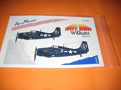 F-4 F WILDCATS/PART 2 BY AEROMASTER DECALS AMD.48270