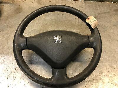 PEUGEOT 207 Black Steering Wheel, Drivers side airbag