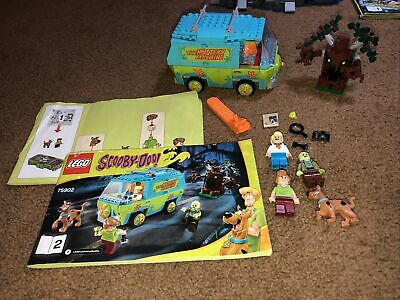 Lego 75902 Scooby-Doo The Mystery Machine W/ Instructions 4 Minifigures Retired
