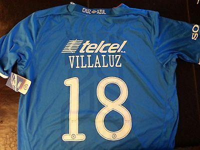9039bb6baa0 Umbro Maquina Cruz Azul Mexico Villaluz  18 Home Soccer Jersey Futbol XXL