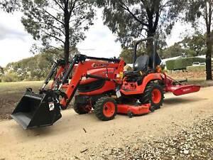 Kubota BX2660 Tractor and Slasher 26 HP West Bendigo Bendigo City Preview